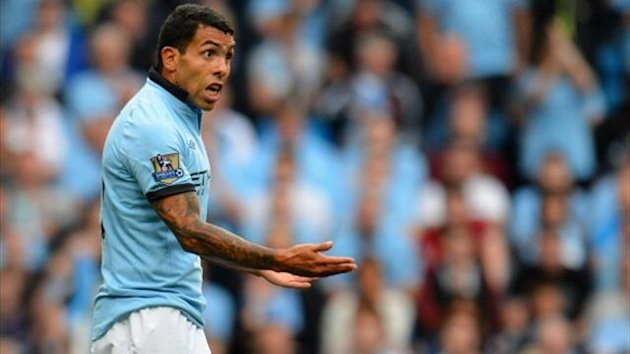 Carlos Tevez of Manchester City (AFP)