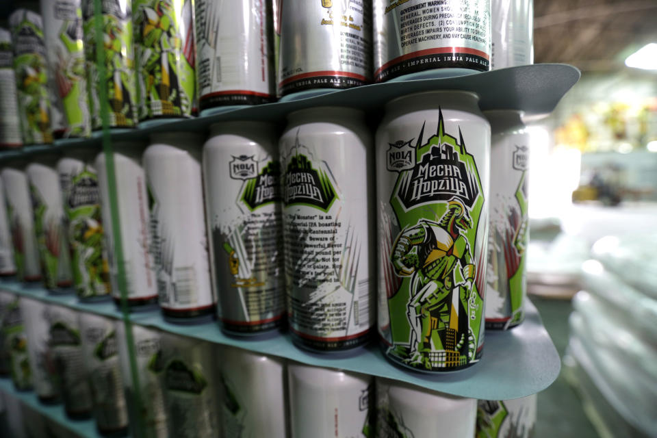 NOLA Brewing sued over MechaHopzilla beer