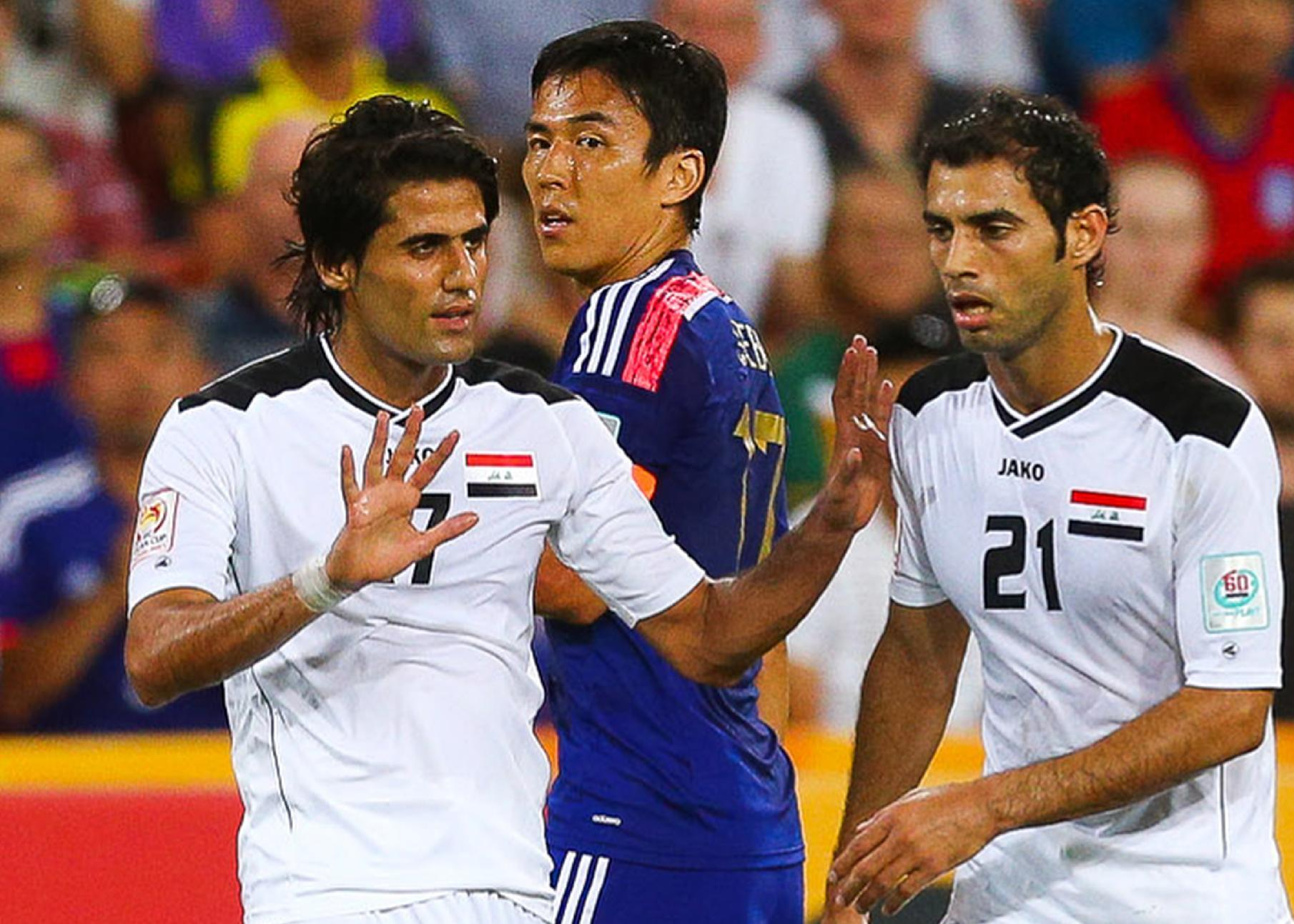 Iran's protest over Iraqi player rejected