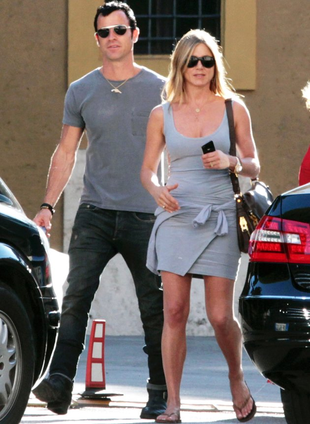 Jennifer Aniston, Justin Theroux, engaged