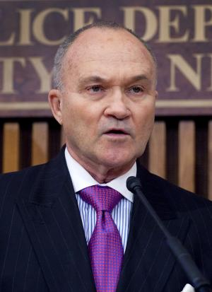 FILE - In this Dec. 13, 2011 file photo, New York Police Commissioner Raymond Kelly speaks during a news conference in New York. In the fall of 2010, the FBI and New York Police Department were working a terrorism investigation together on Long Island. The cyber case had been open for more than a year at the U.S. attorney's office in Brooklyn. So the Justice Department was surprised when, without notice, the NYPD went to federal prosecutors in Manhattan and asked them to approve a search warrant in the case.  (AP Photo/Mark Lennihan, File)