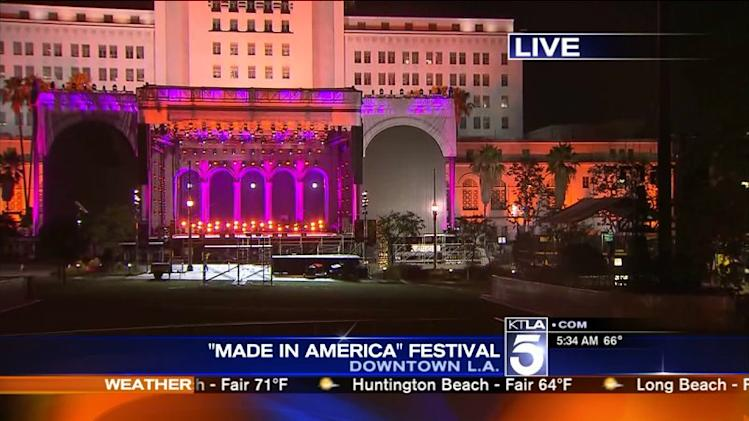 `Made in America` Festival to Hit Grand Park in Downtown L.A. This Labor Day Weekend