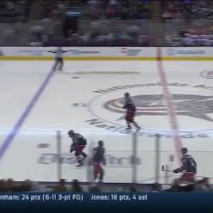 Cory Schneider Save on Cam Atkinson (00:41/3rd)
