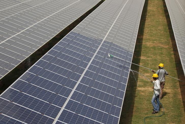 India seeks SoftBank push for Modi's solar goal