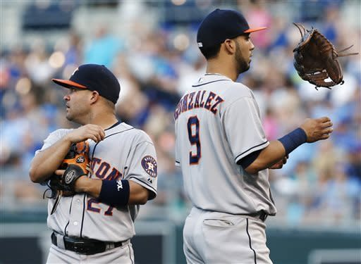 Royals beat Astros 7-2 for fourth straight win