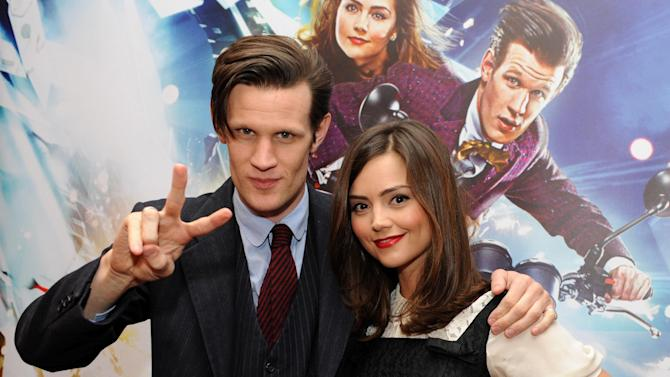 Doctor Who celebrated at TV Baftas