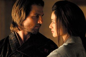 Tom Cruise and Koyuki in Warner Bros. The Last Samurai