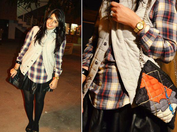 Images via : iDiva.comA plaid shirt worn with a short skirt and stockings can liven up the spirits! Source: StylePileRelated Articles - Trend Alert: 10 Ways to Rock TartanTrend Alert: Brighten Up Your