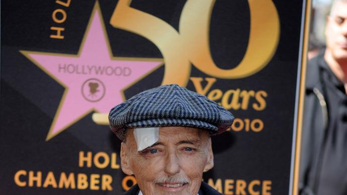 Dennis Hopper Obit Gallery 2010 Walk of Fame Star Ceremony