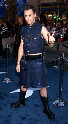 Alan Cumming at the Hollywood premiere of 20th Century Fox's X2: X-Men United