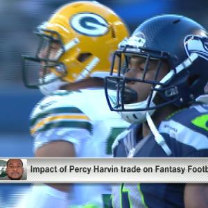 'NFL Fantasy Live': Impact of Percy Harvin trade