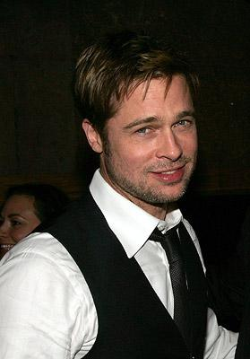 Brad Pitt at the New York City premiere of Warner Brothers' The Assassination of Jesse James by the Coward Robert Ford
