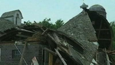 Tornadoes Hit North Iowa As Big Storm Heads East