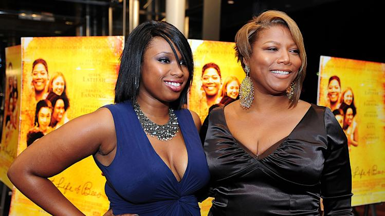 The Secret Life of Bees DC Premiere 2008 Jennifer Hudson Queen Latifah