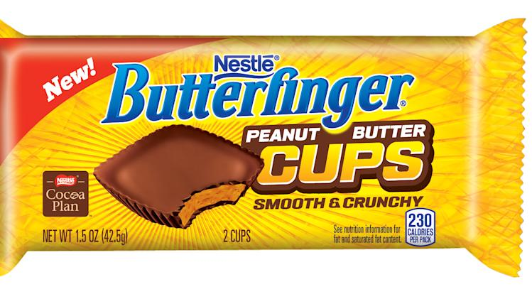 Butterfinger launches PB cups with Super Bowl ad