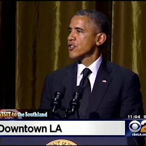Obama Holds Fundraiser, Will Speak At Community College