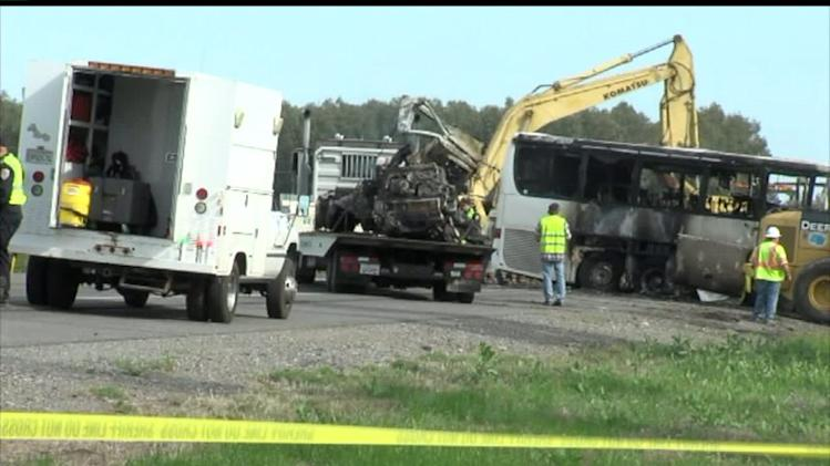 911 Tapes Released In Fatal Bus Crash