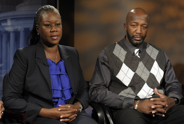 The parents of Trayvon Martin, …