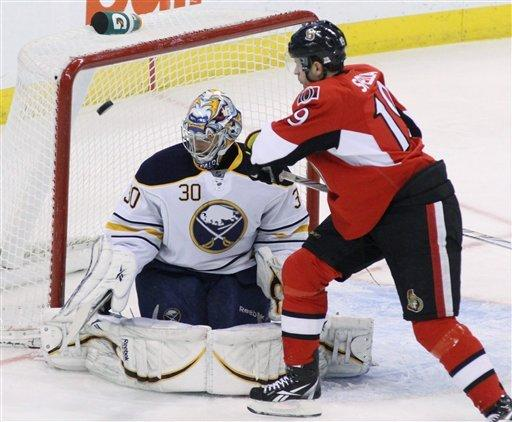 Turris helps Senators past Sabres