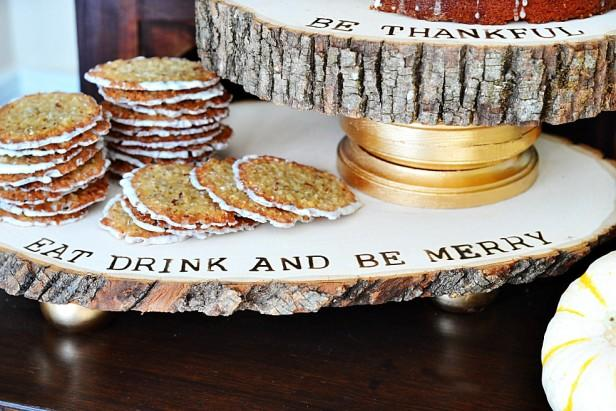 Rustic Refined Serving Trays You Can Make Yourself!