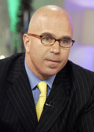 "FILE - In this Dec. 6, 2007 file photo, radio talk-show host Michael Smerconish appears on the NBC ""Today"" television show in New York. Smerconish is jumping from traditional talk radio to satellite, saying the media form he has loved essentially left him. The Philadelphia-based host said Wednesday he will move his three-hour program to SiriusXM on April 15, airing weekdays at 9 a.m. ET with a repeat at 6 p.m. ET. (AP Photo/Richard Drew, File)"