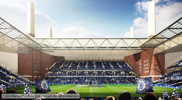 Chelsea have revealed what their plans for Battersea Power station would look like (Chelsea Football Club)