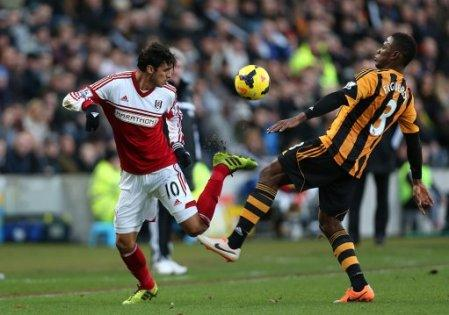 Soccer - Barclays Premier League - Hull City v Fulham - KC Stadium