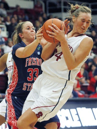 No. 4 Stanford women beat Fresno State 72-61