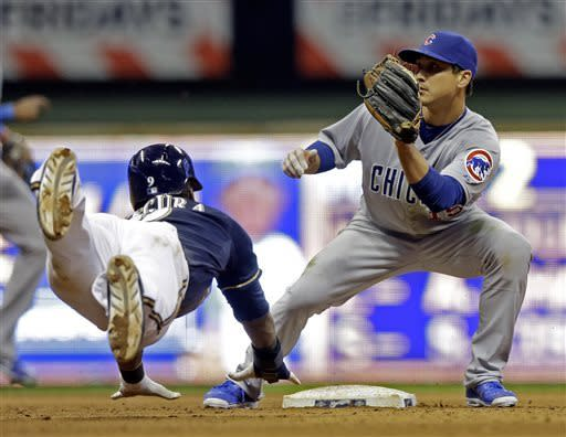 Braun homers in Brewers 5-4 win over Cubs