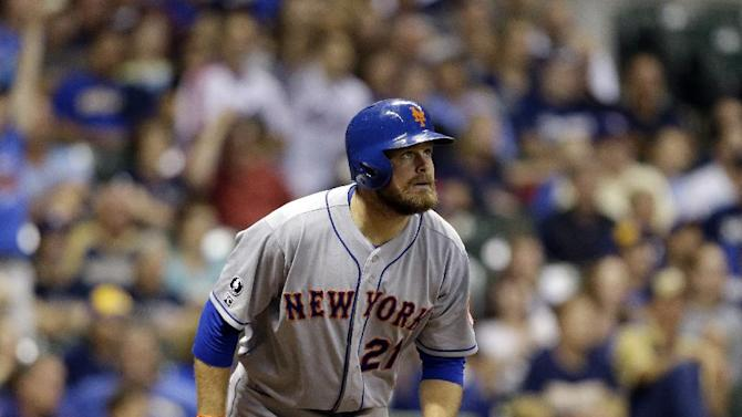 Duda's HR leads Mets over Brewers, 3-2