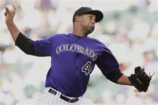 Juan Nicasio pitches Rockies past Dodgers 6-2