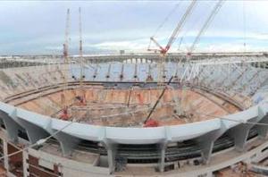 Opening of Mane Garrincha World Cup stadium delayed