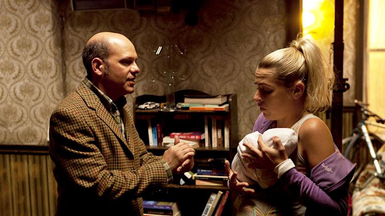 "David Cross as Todd Margaret and Sara Pascoe as Pam in ""The Increasingly Poor Decisions of Todd Margaret."""
