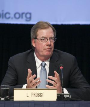 Larry Probst re-elected as USOC chair