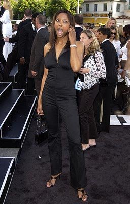 Premiere: Aisha Tyler at the LA premiere of Columbia's Men in Black II - 6/26/2002 
