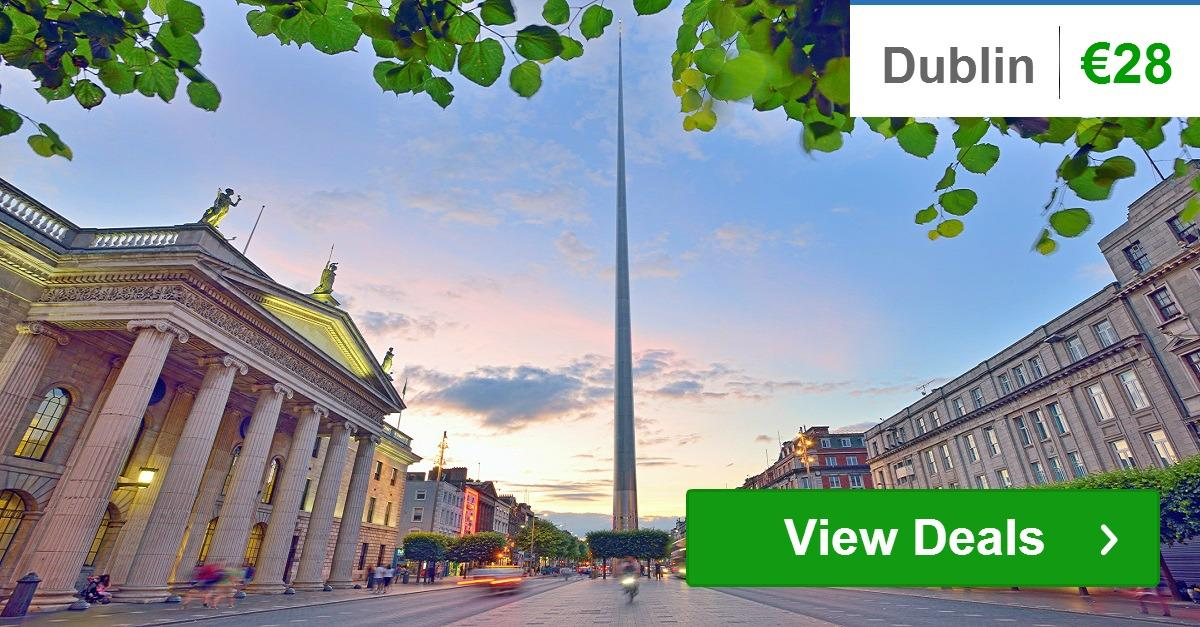 Dublin Hotels: from €28 and up
