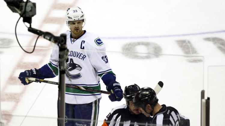NHL: Stanley Cup Playoffs-Vancouver Canucks at San Jose Sharks