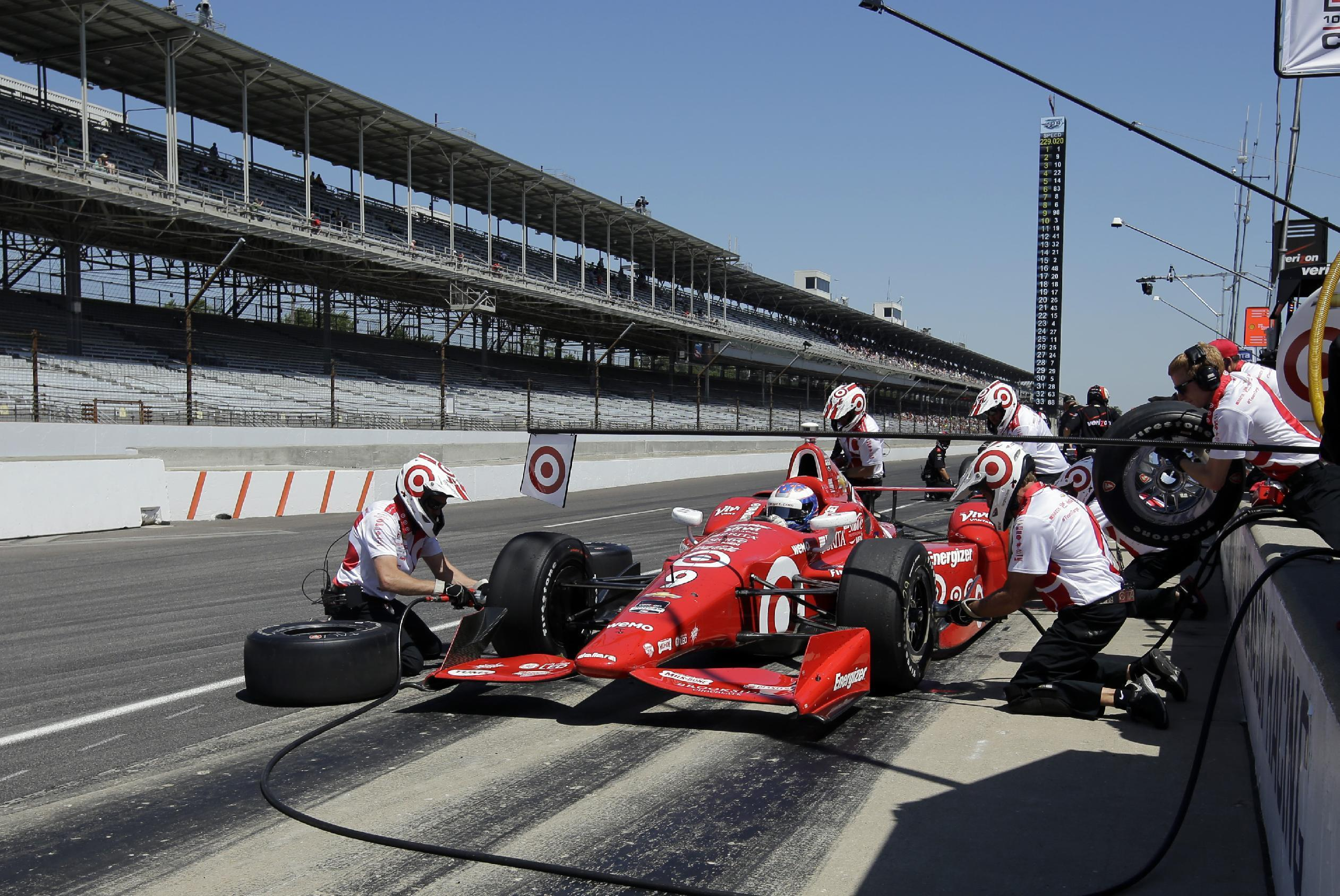 Questions about safety hover over 99th Indianapolis 500