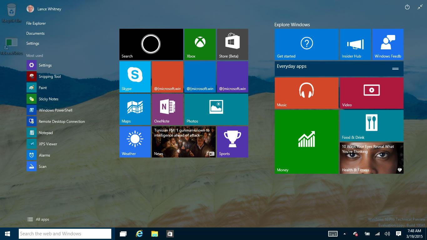 Windows 10 may head to PC makers in July