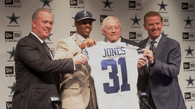 No bluffing: Cowboys stick with defense as draft closes