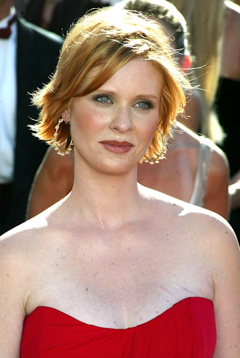 Cynthia Nixon at The 54th Annual Primetime Emmy Awards.