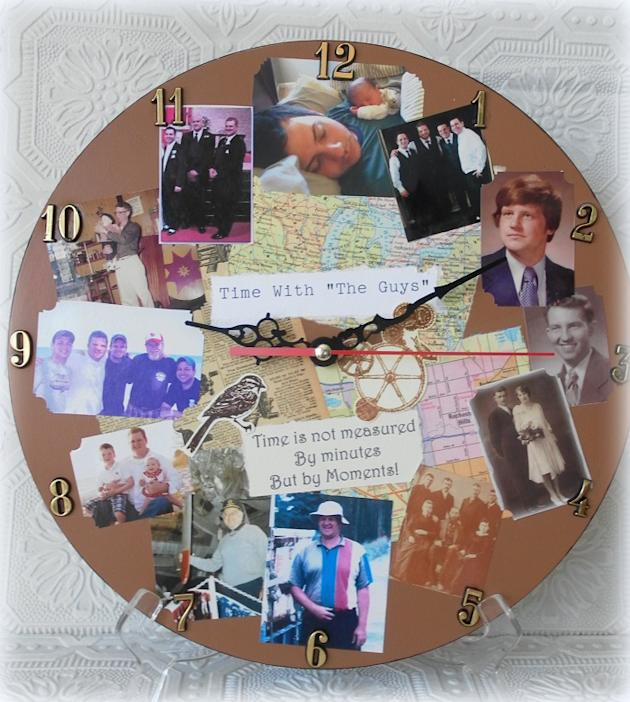 Custom Photo Memory Clock