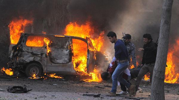 Opposition activists say 31 dead in Damascus blast