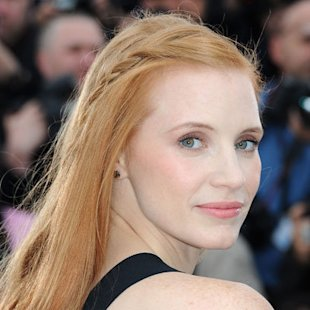 Jessica Chastain: In Detail Plaits: Hair Ideas: Beauty