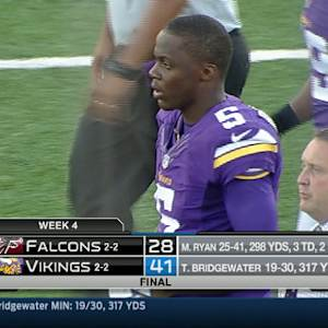 Week 4: Atlanta Falcons vs. Minnesota Vikings highlights