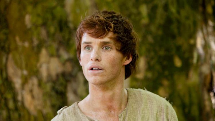 "Eddie Redmayne as Jack in ""The Pillars of the Earth."""