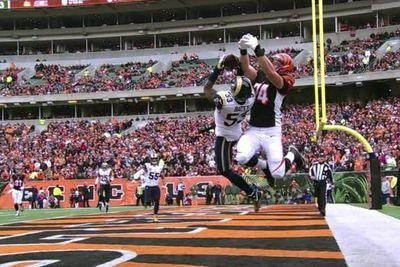 The Bengals tried to throw a jump ball to a 300-pound tackle