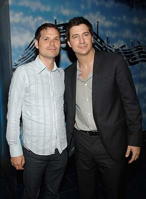 Michael Ian Black and Ken Marino at the New York premiere of THINKFilm's The Ten