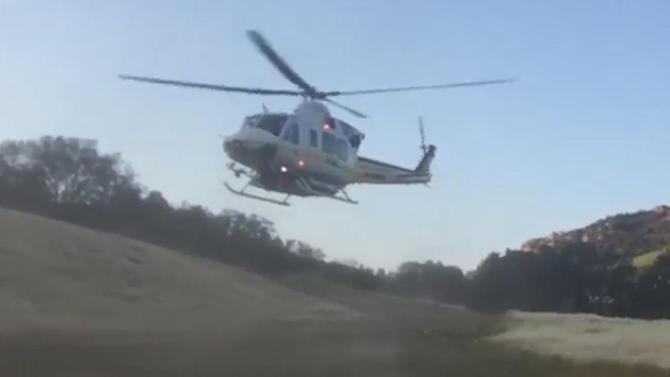 2 LASD deputies airlifted after rollover crash in Malibu