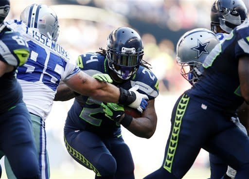 Lynch leads way as Seattle beats Dallas 27-7